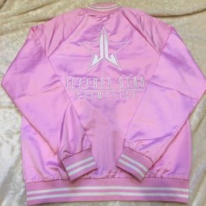 NEW Jeffree Star Varsity Jacket Baby Pink Medium